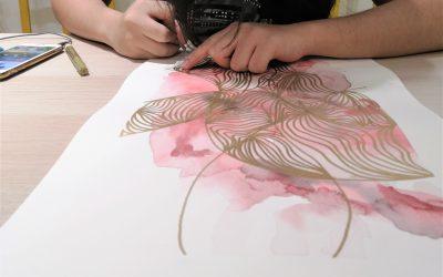 abstract-art-yellow-easel-art-studio-class-for-adults-kids-children-kuala-lumpur