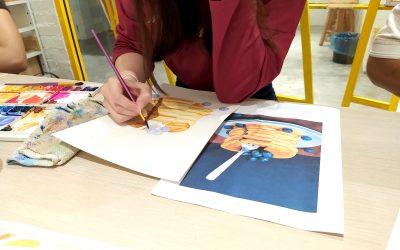 watercolor-adult-class-kl-yellow-easel-art-studio-desa-sri-hartamas-malaysia